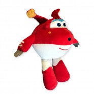 Peluche Aereo JETT Enorme XXL 55cm SUPER WINGS Originale PLAY BY PLAY