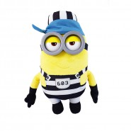 MINION PRISONER Number 603 Plush 30cm Plastic Eyes JAIL from DESPICABLE ME 3 Original MINIONS