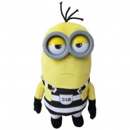 MINION PRISONER Number 310 Plush 30cm Plastic Eyes JAIL from DESPICABLE ME 3 Original MINIONS