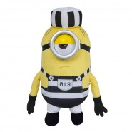 MINION PRISONER Number 013 Plush 30cm Plastic Eyes JAIL from DESPICABLE ME 3 Original MINIONS
