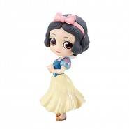 Figure Statue 14cm SNOW WHITE Seven Dwarves PASTEL Version QPOSKET Banpresto DISNEY