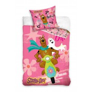 BED SET Duvet Cover SCOOBY DOO Busted 140x200cm and Pillow Cover HANNA BARBERA