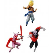DRAGONBALL SUPER 3 Different FIGURES GOGETA JIREN and JANEMPA from Battle Figures SERIES 04 Bandai Gashapon