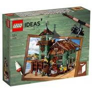 Playset Costruzioni OLD FISHING STORE Negozio Pesca VINTAGE Originale LEGO Ideas 21310