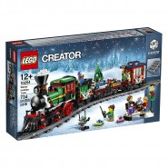 Building Playset WINTER HOLIDAY TRAIN Xmas LEGO CREATOR Expert 10254
