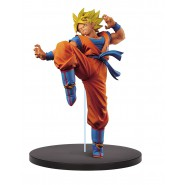DRAGON BALL Super Figura Statua 20cm SON GOKU Gokou Super Sayan FES Volume 1 BANPRESTO Japan