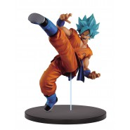 DRAGON BALL Super Figura Statua 20cm SON GOKU Gokou GOD Super Sayan FES Volume 1 BANPRESTO Japan