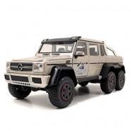 Modello DieCast Truck G63 AMG 6x6 dal film JURASSIC WORLD Scala 1/24 Jada