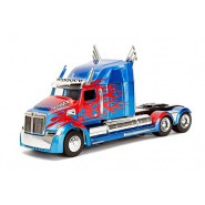 Modello DieCast 28cm Camion OPTIMUS PRIME Truck dal film TRANSFORMERS Scala 1/24 Jada