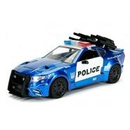 Modello DieCast 21cm BARRICADE Auto Polizia dal film TRANSFORMERS Scala 1/24 Jada