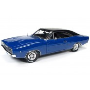 DieCast Model 1/18 Blue DODGE CHARGER from CHRISTINE Movie Stephen King 1:18 AUTOWORLD