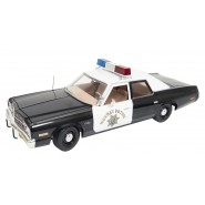 DieCast Model 1/18 DODGE MONACO Police Car from Tv-Movie CHIPS Highway Patrol AUTOWORLD 1:18