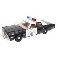 Modellino DieCast 1/18 DODGE MONACO Polizia da Telefilm CHIPS Highway Patrol AUTOWORLD 1:18
