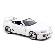 FAST and FURIOUS Model BRIAN's WHITE TOYOTA SUPRA Scale 1:18 Original JADA 1/18
