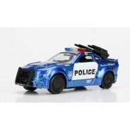 Modello DieCast 8cm BARRICADE Auto Polizia dal film TRANSFORMERS Scala 1/64 Jada