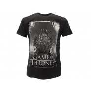 GAME OF THRONES T-Shirt Jersey THRONE Logo OFFICIAL License HBO
