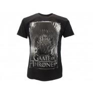 TRONO DI SPADE T-Shirt Maglietta TRONO Logo UFFICIALE Licenza HBO