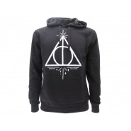 HARRY POTTER Hooded Sweatshirt THE DEATHLY HALLOWS Warner Bros Official Sweater