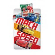 BED SET Duvet Cover CARS MACH SPEED Saetta McQueen Disney ORIGINAL