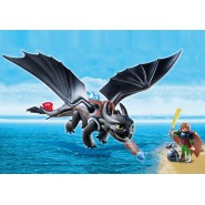 Playset SDENTATO e HICCUP Playmobil DRAGONS Dragon Trainer 9246