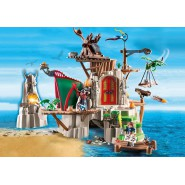 Playset Gigante FORTEZZA ISOLA DI BERK Dragon Trainer DRAGONS Playmobil 9243