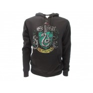 HARRY POTTER Hooded Sweatshirt SLYTHERIN House CREST Warner Bros Official Sweater HOODIE