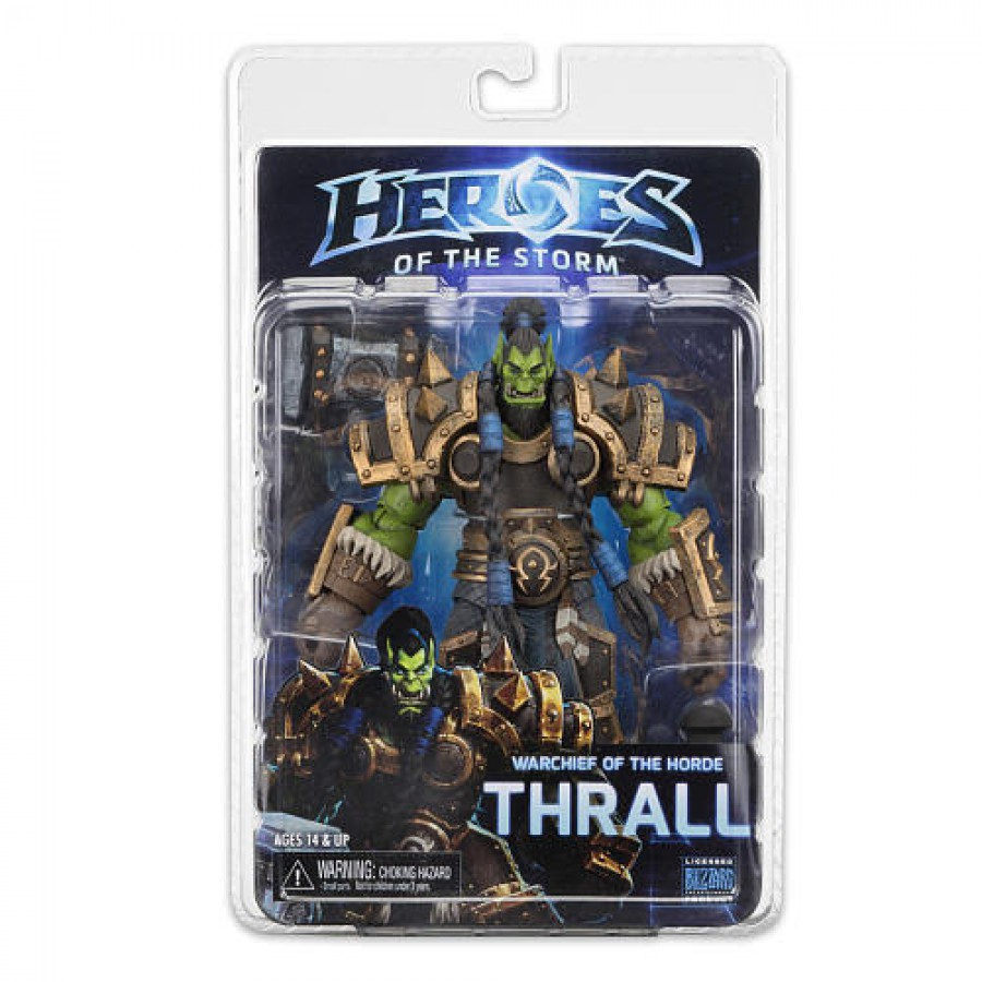 HEROES OF THE STORM Action Figure Deluxe THRALL 19cm SERIE 3 NECA Blizzard