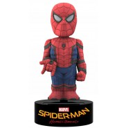 SPIDERMAN HOMECOMING Uomo Ragno Figura 15cm BODY KNOCKER Movimento Energia Solare NECA