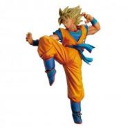 DRAGON BALL Figura Statua 20cm SON GOKU Gokou Super Sayan RECOLOR Serie FES 2 Combat BANPRESTO Japan
