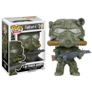 FALLOUT Collectible Figure T-60 POWER ARMOR Army Color 10cm Funko POP 78