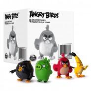 ANGRY BIRDS Boxed SET 4 Figure Personaggi RED CHUCK BOMB PIG Originali ROVIO Spin Master