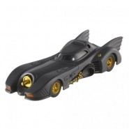 BATMAN Modellino Auto BATMOBILE 1989 Scala 1/43 Hot Wheels ELITE X5494
