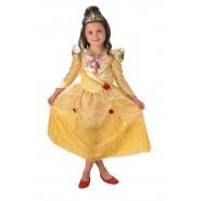 COSTUME Carnevale BELLE Winter Wonderland Bambina RUBIE'S Rubies LA BELLA E LA BESTIA Halloween