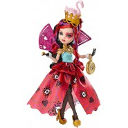 Ever After High LIZZIE HEARTS Paese Meraviglie BAMBOLA Figura Mattel CJF43