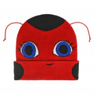 MIRACULOUS LADYBUG Winter HAT Beanie with antennas Original