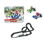 Electric SLOT CAR Racing Super MARIO KART Mario Vs Luigi SPECIAL 6,20 Meter CARRERA GO