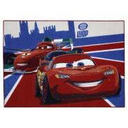 Disney CARS Carpet Baby Room LIGHTNING McQUEEN World Gran Prix133x95cm ORIGINAL