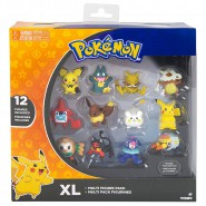 POKEMON Box 12 FIGURE 4cm WAVE 2 Edizione Speciale XL MULTI PACK Originali TOMY