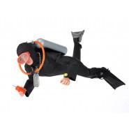 Action Figure Doll 30cm SCUBA DIVER SOLDIER Action Man 50th Anniversary ORIGINAL Hasbro
