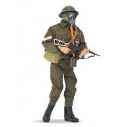 Action Figure Doll 30cm BRITISH INFANTRYMAN SOLDIER Action Man 50th Anniversary ORIGINAL Hasbro