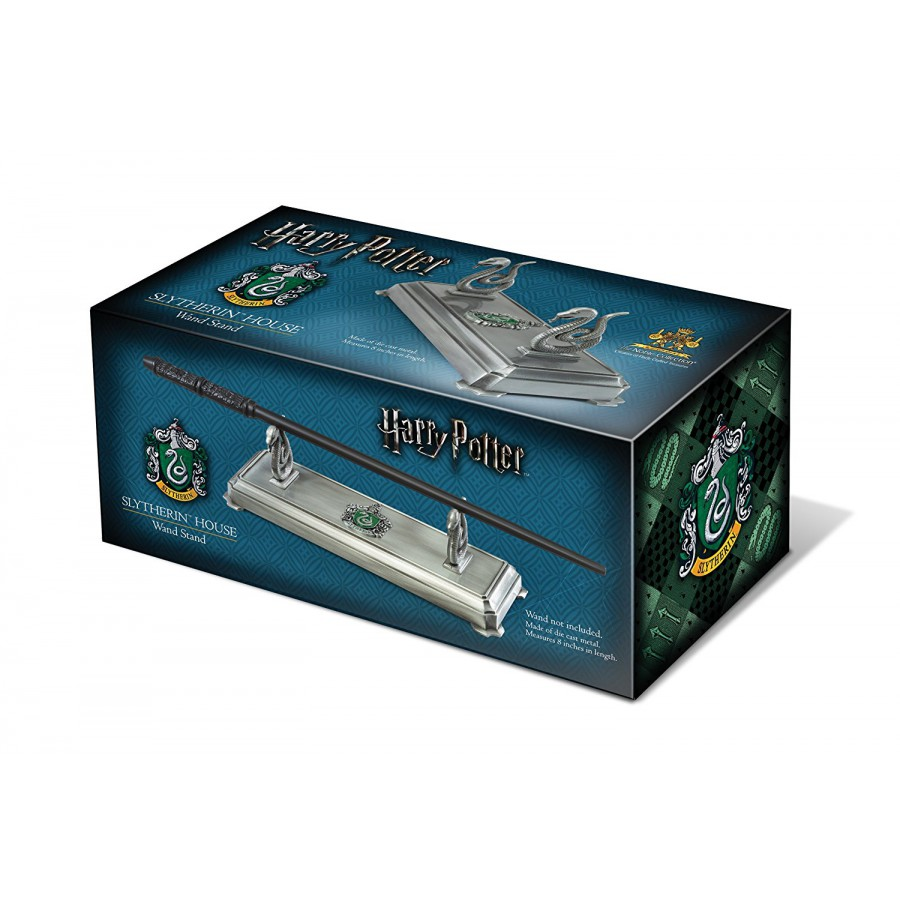 noble collection slytherin wand stand the noble collection nn9524