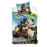 BED SET Duvet Cover SHAUN THE SHEEP 160x200 100% COTTON