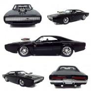 FAST & FURIOUS Modello 1970 DODGE CHARGER R/T di DOM Versione NERO OPACO  Scala 1:24 JADA Collector Serie