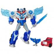 MegaWatt Robot OPTIMUS PRIME Figura 30cm TRANSFORMERS Luci Suoni HASBRO B7066