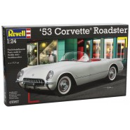 Auto CORVETTE ROADSTER 1953 Modello Scala 1/24 Kit Montaggio 18cm REVELL 07067