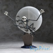 Figura Statua JACK sulla Tomba GLOW IN THE DARK 18cm DISNEY Nightmare Before Christmas NBX 2017 Ufficiale SEGA Skellington