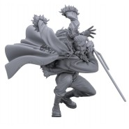ONE PIECE Figure Statue SMOKER Black and White Version 13cm BANPRESTO Colosseum SCultures BIG 6
