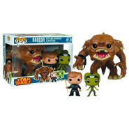 Special 3-Pack 3 Figures RANCOR LUKE and SLAVE OOLA Star Wars LIMITED EDITION Funko POP