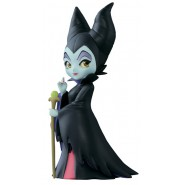 Figura Collezione 7cm MALEFICA Maleficent Disney QPOSKET Petit VILLAINS Banpresto Q Posket SLEEPING BEAUTY