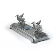 WAND STAND in Metal House RAVENCLAW Harry Potter Original NOBLE COLLECTION NN9524 Warner Bros